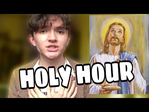 Holy Hour of Adoration ~ Tips