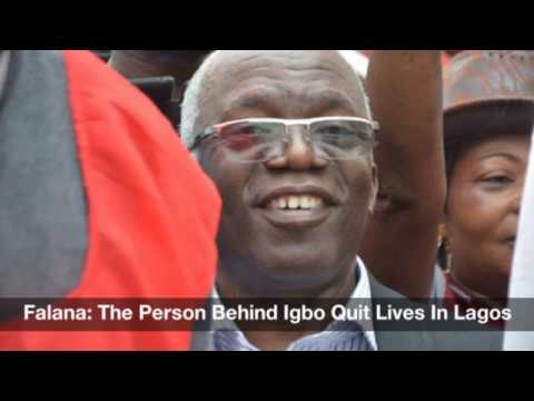 Falana: The Person Behind Igbo Quit Leaves In Lagos: Nigeria News Daily (23-06-2017)