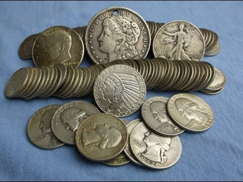 Silver Coins Under Spot! eBay Silver Unpacking - Lots of Dimes...