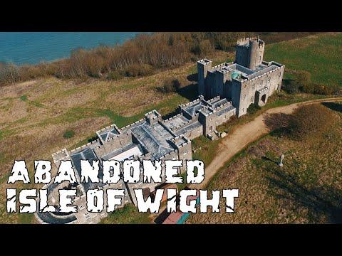 Exploring Abandoned Castle Isle of Wight - Urban Exploration (Norris Castle East Cowes) Urbex