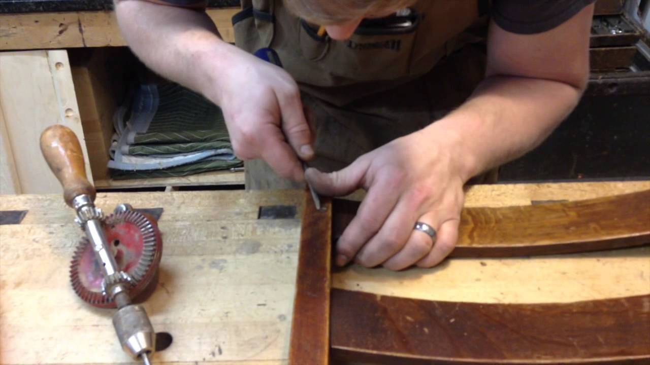 How to Repair a Rocking Chair  YouTube