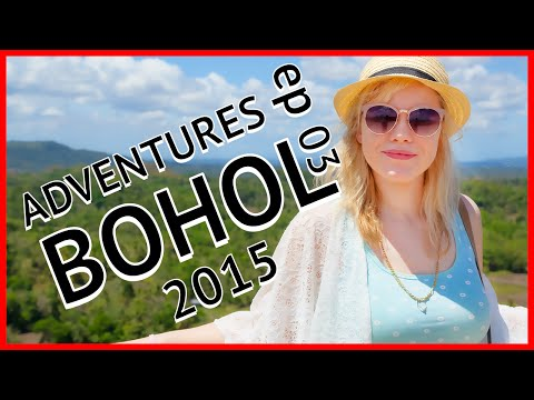 Philippines, Bohol 2015 (chocolate hills and Panglao island) (pt1) : ADVENTURES Ep 03