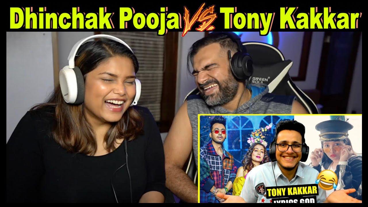 Download Tony Kakkar's Kanta Laga VS Dhinchak Pooja    Triggered Insaan Reaction by The S2 Life