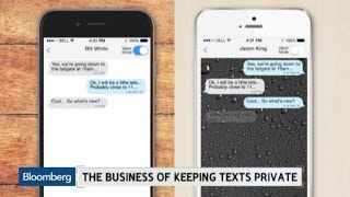 Keeping Texts Private: The Business of VaporChat