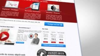 depot web: constat informatique  de site internet, preuve juridique en ligne