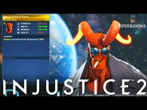 Awesome EPIC Hellboy Gear! - Injustice 2: Mother Box Opening & Epic Hellboy Gear Showcase