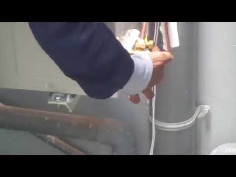 Cách Khóa gas để di chuyển điều hòa,Cách tháo máy lạnh không bị xì gas