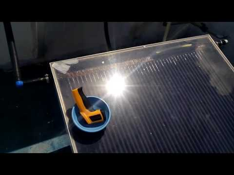 Medindo temperatura coletor solar de aluminio from YouTube · Duration:  4 minutes 27 seconds