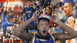 IT FINALLY HAPPENED!! LAMELO vs JULIAN NEWMAN HIGHLIGHTS REACTION