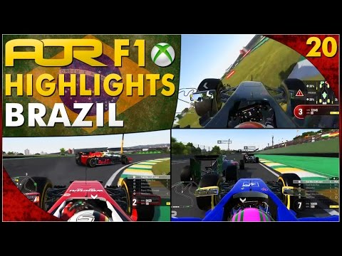 F1 2016 | AOR XB1 F1: S12 Round 20 - Brazilian GP (Official Highlights)