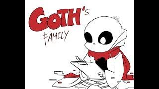 Goths Family Undertale Comic Dub