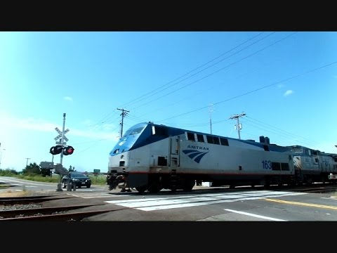 Amtrak Train The Coast Starlight Salem Oregon