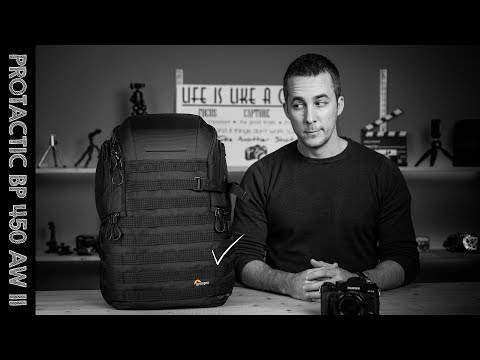 PERFECT CAMERA BAG? Lowepro ProTactic 450 AW II