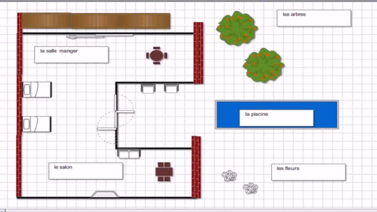 Floor plan labeled in spanish youtube for Floors of the house in spanish