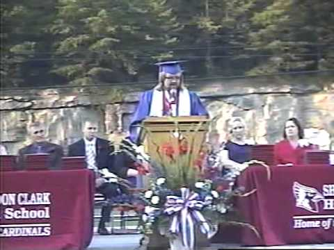 Sheldon Clark High School 2009 Class Valedictorian Joshua Moore Speaks at Graduation (Part One)