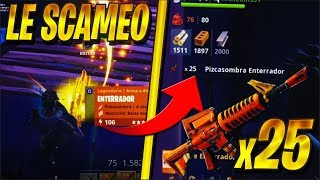 LE SCAMEO 25 CRIMORS by SCAMER and LOSEs ALL YOUR INVENTORY -Fortnite Scamer get Scam