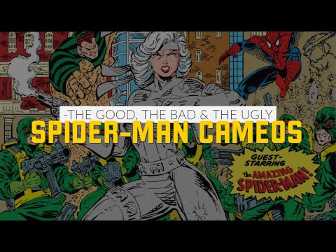 Spider-Man Cameos in Lousy First Issues #ComicBooks