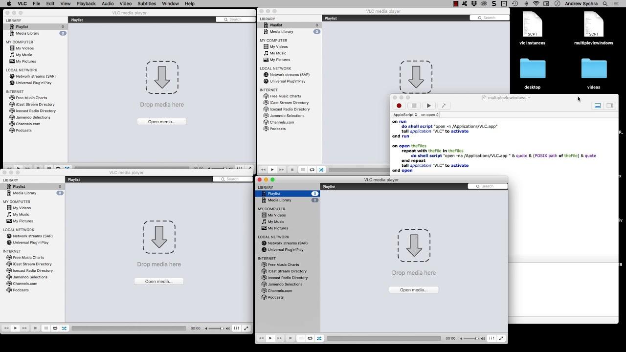 open multiple vlc windows on mac