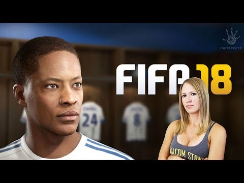 OFFICIAL GAMEPLAY OF FIFA 18 THE JOURNEY!
