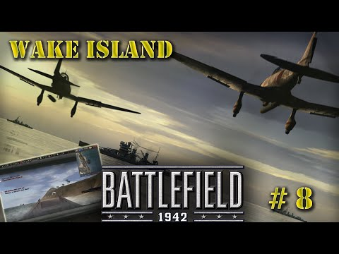 Battlefield 1942 multiplayer game #8. Wake Island
