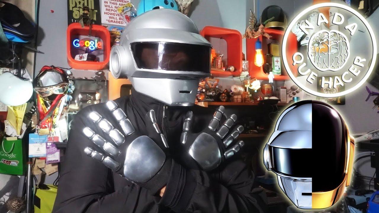 ¿Cómo hacer los guantes de Daft Punk? ¡FÁCIL! |NQUEH