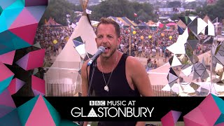 James Morrison performs Feels Like the First Time in acoustic session at Glastonbury 2019