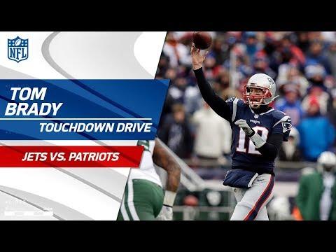 Tom Brady Puts Together Big TD Drive to Extend Lead! | Jets vs. Patriots | NFL Wk 17 Highlights