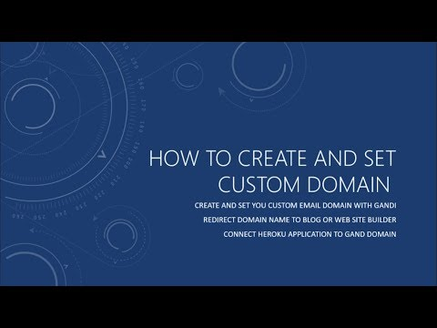 Create and Set your Gandi.net Email Domain for dummies - part 2