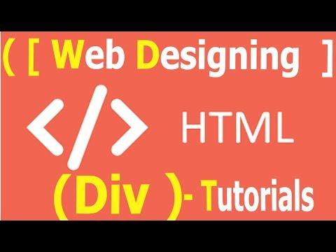 Html 5 - Div , Height , Width , Padding , Margin Tutorials | WEB DESIGNING