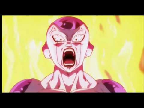 Frieza transforms into Golden Frieza Dragon Ball Super English Dub