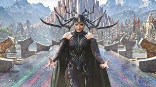 Final Batlte FULL Scene I Thor Loki Hulk vs Hela - Thor Ragnarok Fight Scene [FHD]