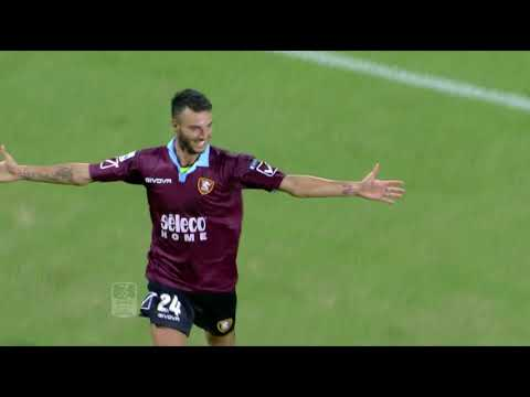 Serie B ConTe.it 2017/2018 | 2ª Giornata  Salernitana - Ternana  3–3: Highlights