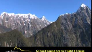 Southern Alps Air - Fly to Milford Sound, New Zealand