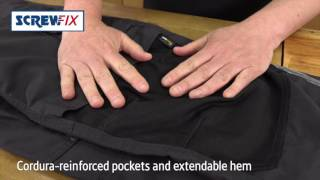 Screwfix - HYENA HIMALAYA WORK TROUSERS