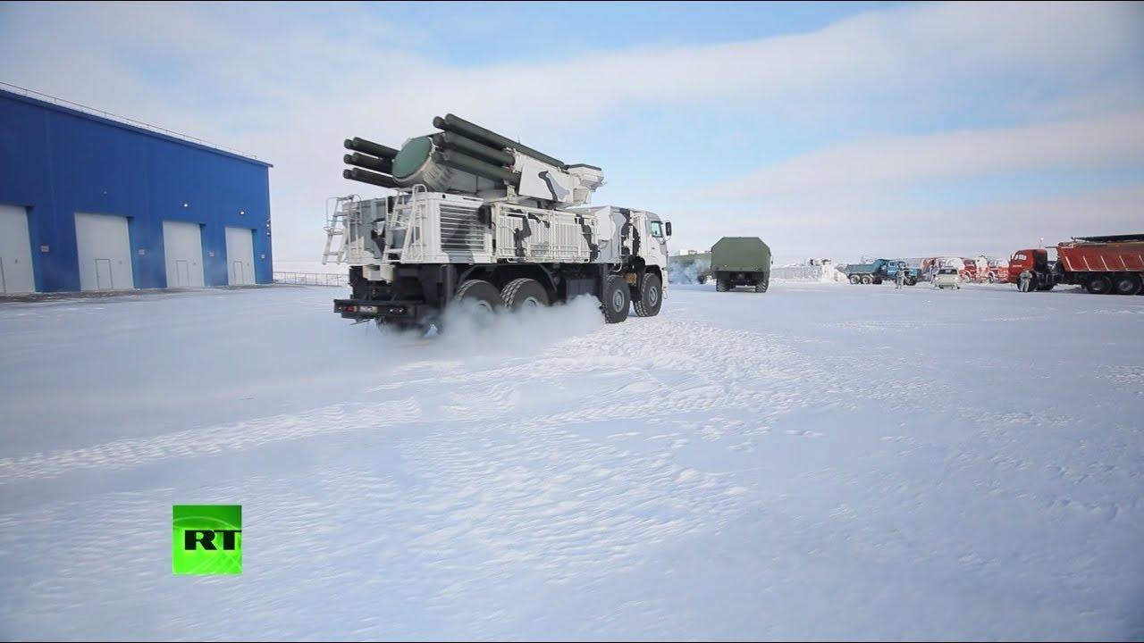 Минобороны РФ впервые показало журналистам военную базу «Северный клевер» в Арктике