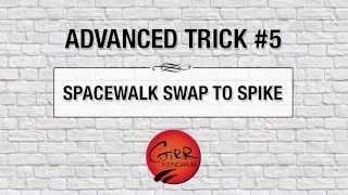 Kendama Trick:  Spacewalk Swap to Spike