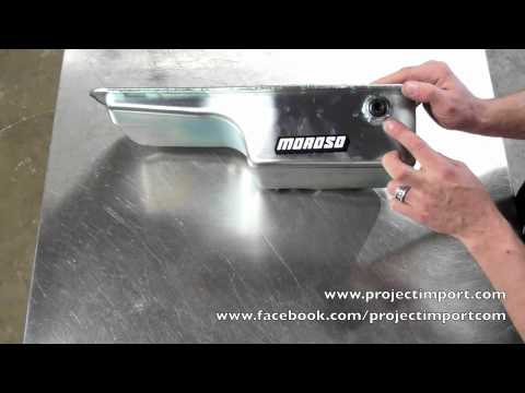 Project Import: Moroso B Series Steel Baffled Oil Pan #20911
