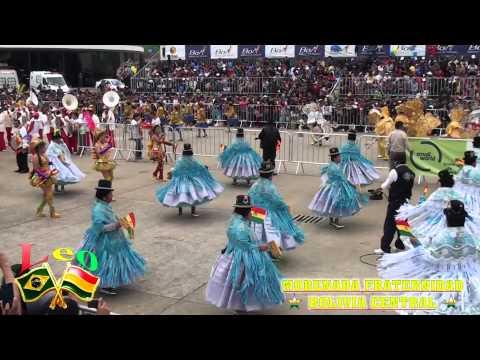 FOLKLORE BOLIVIANO - 06 MORENADA  BOLIVIA CENTRAL ACTUAL CAMPEON  2014