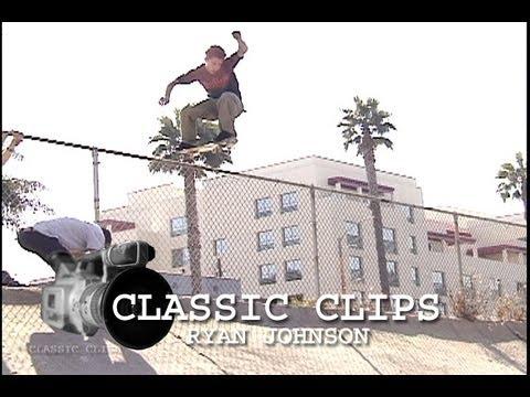 Ryan Johnson Skateboarding Classic s 45 New Deal