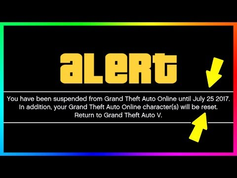 Make BANNED!! - GTA ONLINE'S BIGGEST BAN WAVE EVER HAS TONS OF PLAYERS BANNED FOREVER, SUSPENDED & RESET! Pics