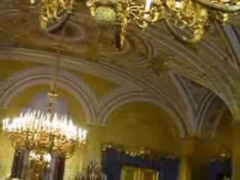 The Winter Palace of the Czars - Hermitage Museum - St. Petersburg, Russia
