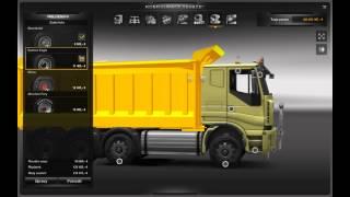 Euro Truck SImulator 2 Iveco Dump Truck