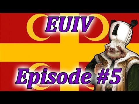 Let's Play EUIV Turks to Byzantines!? Episode 5 (Deus Vult!)