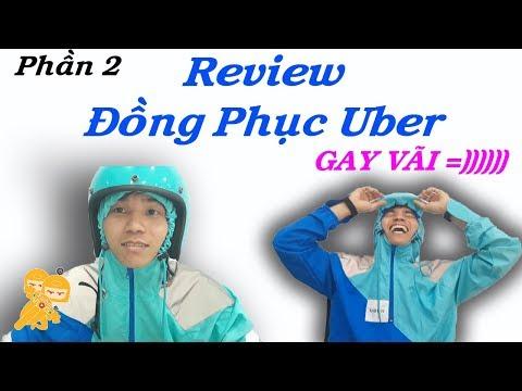 Xe Ôm Vlog - Review đồng Phục Uber Và......!!!