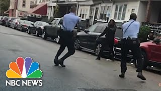 Video Shows Fatal Police Shooting Of Black Man Holding Knife In Philadelphia | NBC News NOW
