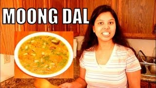 How to make Moong Dal - Special Bengali Mung Daal