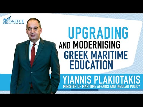 Yiannis Plakiotakis, Minister of Maritime and Insular Policy - Greece Investor Guide (3)
