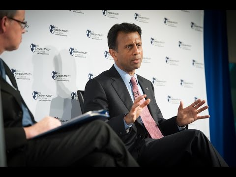 2014 FPI Forum - Rebuilding the American Defense Consensus with Gov. Bobby Jindal (R-LA)