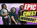 Epic Chest workout | Build Mass & Crazy Strength