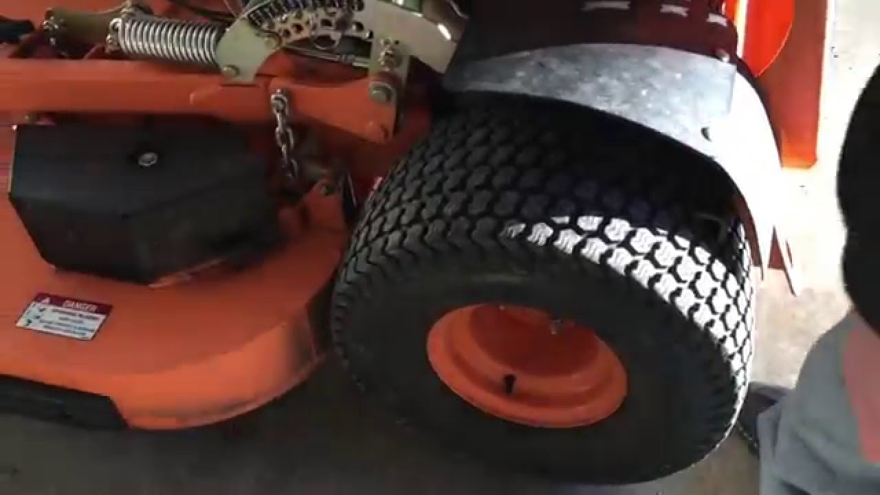 How To Fix A Flat Lawn Mower Tire